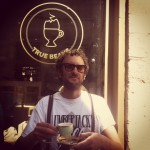 Eddie C @ True Beans coffee bar Ghent